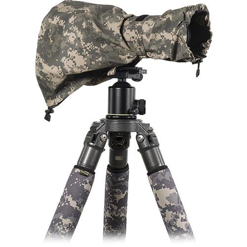 LensCoat RainCoat Medium Sleeve (Digital Camo)