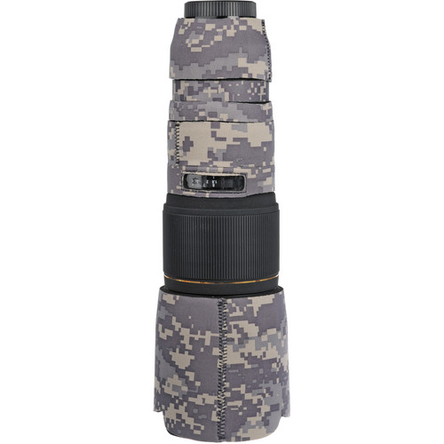 LensCoat Lens Cover for Sigma 100-300mm f/4 EX DG APO HSM Lens (Digital Army Camo)