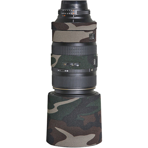 LensCoat Lens Cover for Sigma 120-300mm f/2.8 EX Lens (Forest Green)