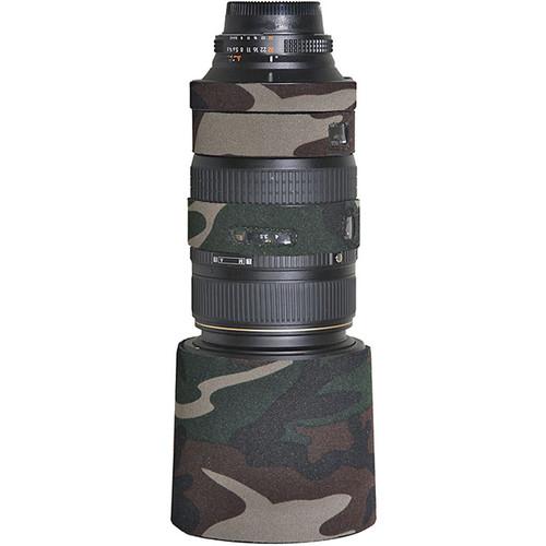 LensCoat Lens Cover for Sigma 120-300mm f/2.8 EX Lens (Forest Green)