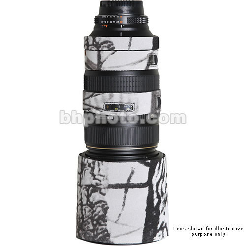 LensCoat Lens Cover for Sigma 120-300mm f/2.8 EX Lens (Realtree AP Snow)