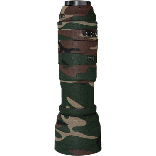 LensCoat Lens Cover For the Sigma 120-400mm DG OS Lens (Forest Green Camo)