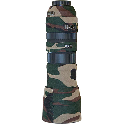 LensCoat Lens Cover For the Sigma 150-500mm f/5.6-6.3 DG OS HSM APO Lens (Forest Green Camo)