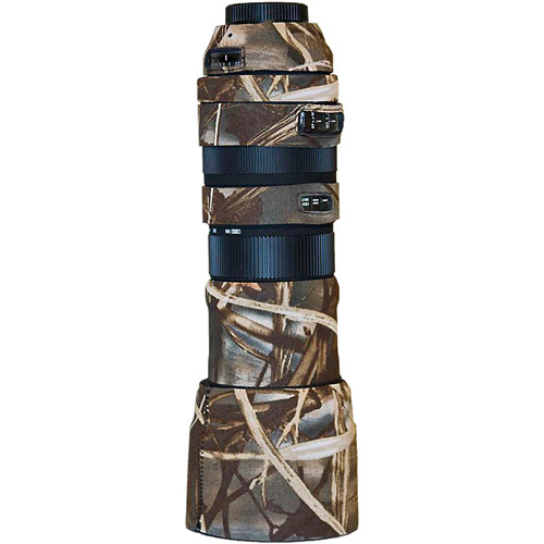 LensCoat Lens Cover For the Sigma 150-500mm f/5.6-6.3 DG OS HSM APO Lens (Realtree Max4 HD)