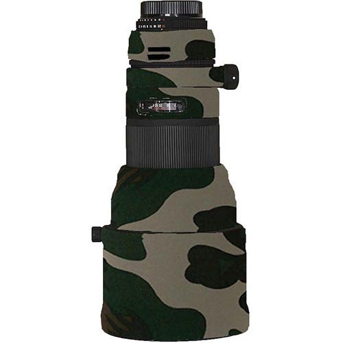 LensCoat Lens Cover for Sigma 300mm f/2.8 APO DG Lens (Forest Green Camo)