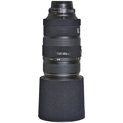 LensCoat Lens Cover for Sigma 50-500mm f/4.5-6.3 Lens (Black)