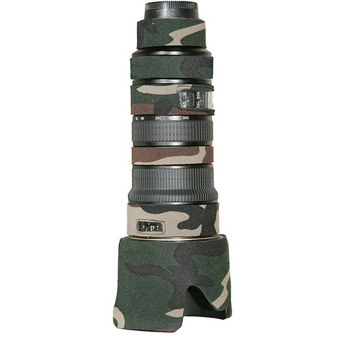 LensCoat Lens Cover For the Sigma 50-500mm f/4.5-6.3 Lens (Forest Green)