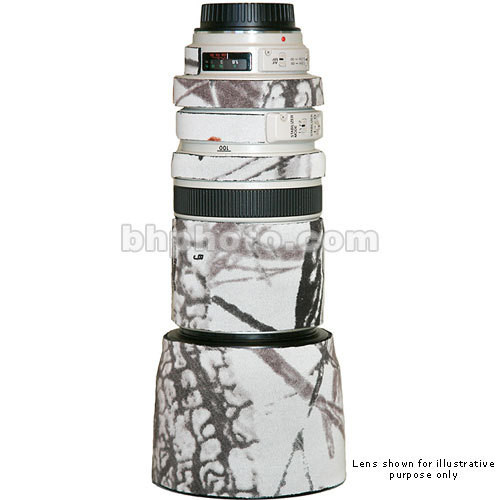 LensCoat Lens Cover for Sigma 50-500mm Lens (Realtree AP Snow)