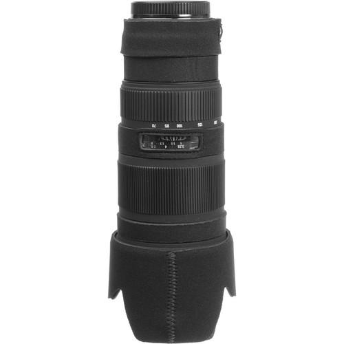 LensCoat Lens Cover for Sigma 70-200mm EX DG Lens (Black)