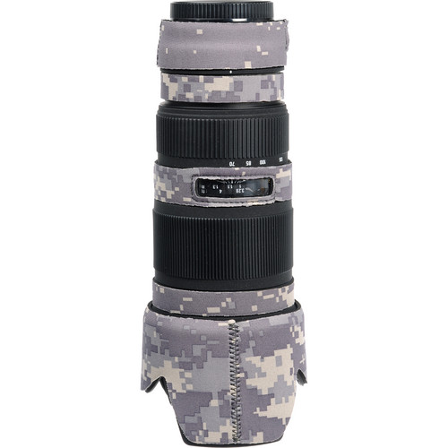 LensCoat Lens Cover for Sigma 70-200mm EX DG Lens (Digital Camo)