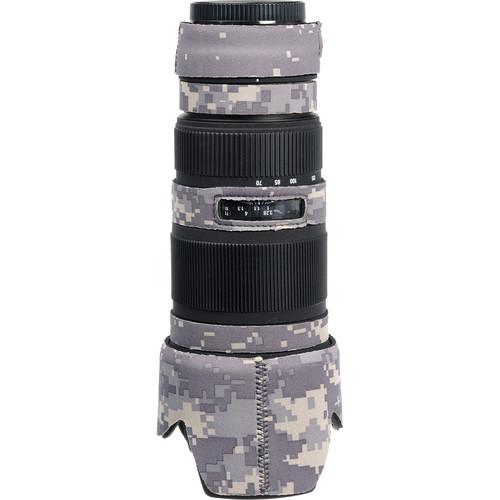 LensCoat Lens Cover for the Sigma 70-200mm EX DG Lens (Digital Army Camo)