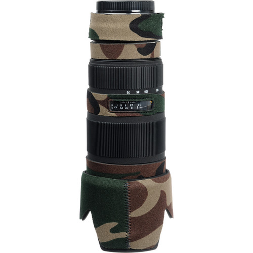 LensCoat Lens Cover for the Sigma 70-200mm EX DG Lens (Forest Green Camo)