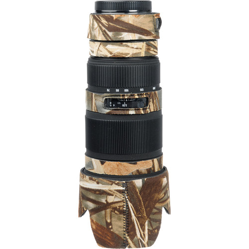 LensCoat Lens Cover for the Sigma 70-200mm EX DG Lens (Realtree Max4 HD)
