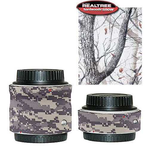 LensCoat Lens Covers for the Sigma Extender Set (Realtree AP Snow)