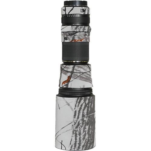 LensCoat Lens Cover for Tamron 200-500mm f/5-6.3 Di AF Lens (Realtree AP Snow)
