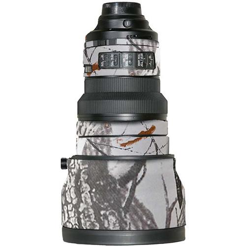 LensCoat Travel Coat Lens Cover for Nikon 200mm VR Lens (Realtree AP Snow)