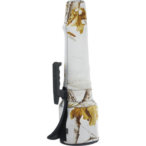 LensCoat Travel Coat Lens Cover for Sigma 300-800mm f/5.6 AF Lens (Realtree AP Snow)