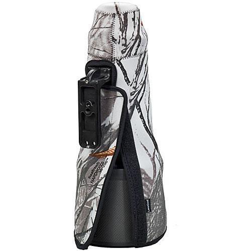 LensCoat Travel Coat Lens Cover for Nikon 400mm f/2.8G VR AF Lens (Realtree AP Snow)