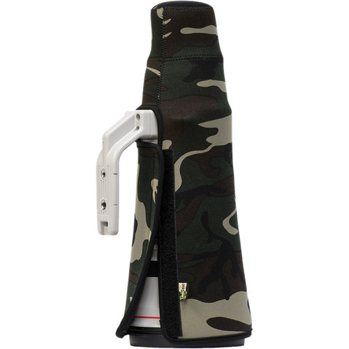 LensCoat TravelCoat for the Canon 500mm f/4 IS II Lens (Forest Green Camo)