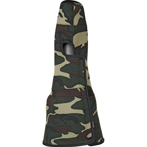 LensCoat TravelCoat Lens Cover for Canon EF 800mm f/5.6L IS USM Lens with Hood (Forest Green Camo)