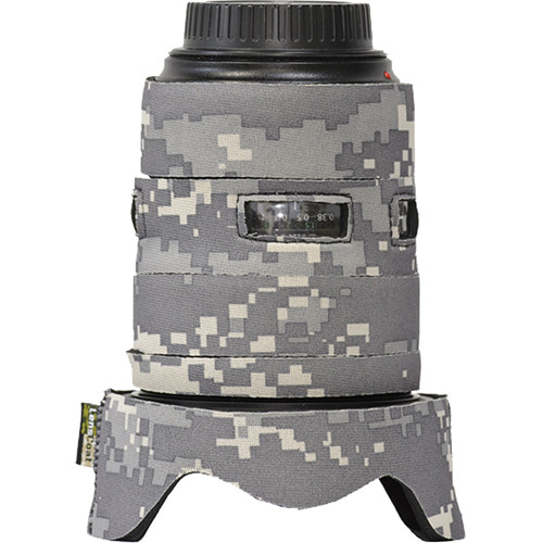 LensCoat Lens Cover for the Canon 24-70mm f/2.8 II Lens (Digital Camo)