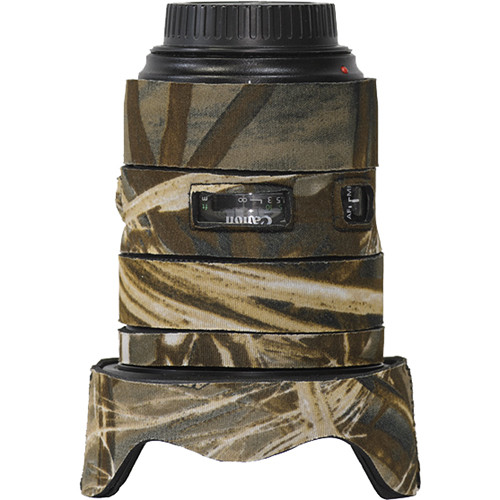 LensCoat Lens Cover for the Canon 24-70mm f/2.8 II Lens (Realtree Max4)