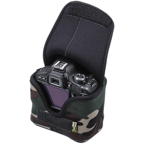 LensCoat BodyBag Compact with Grip (Forest Green Camo)
