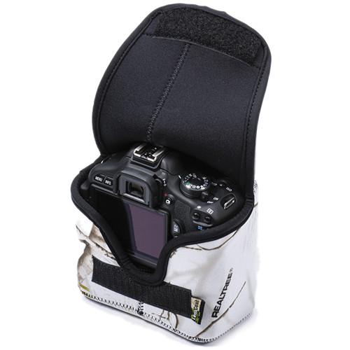 LensCoat LensCoat BodyBag Compact with Grip (Realtree AP Snow)