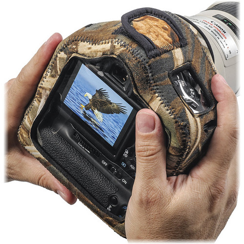 LensCoat BodyGuard Compact Clear Back Case with Grip (Realtree MAX-4 HD)