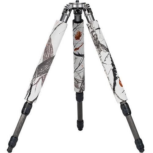 LensCoat LegCoat Tripod Leg Protectors For Gitzo 1340 (Realtree Snow)