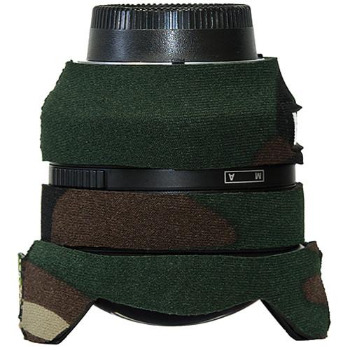 LensCoat Lens Cover for Nikon 14mm f/2.8D ED AF Ultra Wide-Angle Lens (Forest Green Camo)