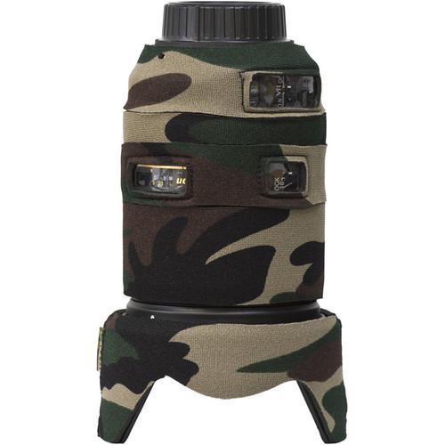 LensCoat Lens Cover for the Nikon 18-300mm f/3.5-5.6G ED VR (Forest Green)
