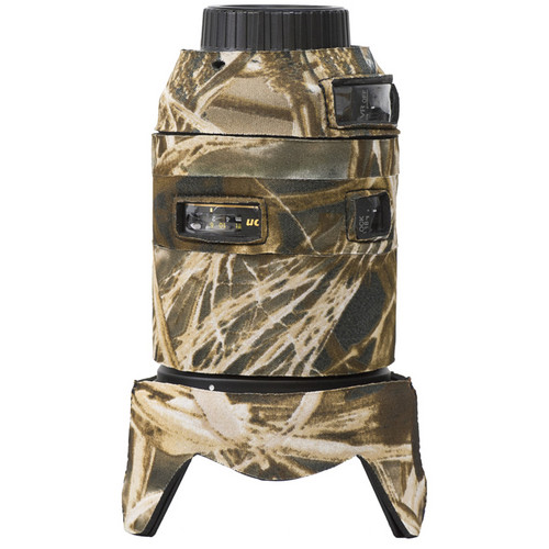 LensCoat Lens Cover for the Nikon 18-300mm f/3.5-5.6G ED VR (Realtree Max4)