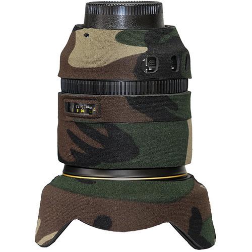 LensCoat Lens Cover for Nikon 24-120mm f/4 VR Lens (Forest Green)