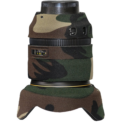 LensCoat Lens Cover for Nikon 24-120mm f/4 VR Lens (Forest Green)