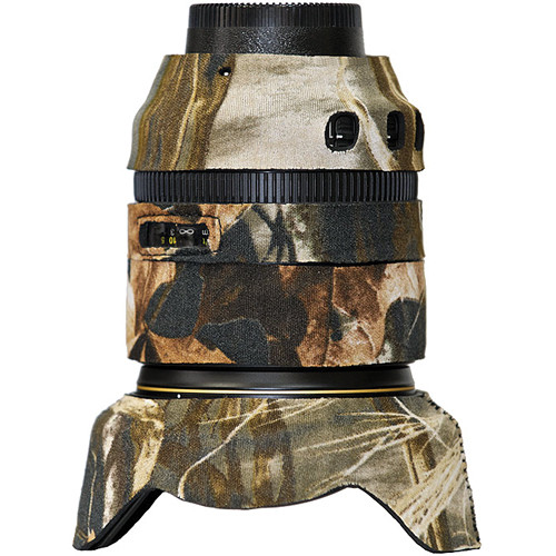 LensCoat Lens Cover for Nikon 24-120mm f/4 VR Lens (Realtree Max 4)