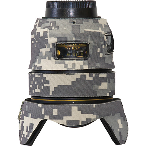 LensCoat Lens Cover for Nikon 24mm f/1.4G ED AF-S Lens (Digital Camo)