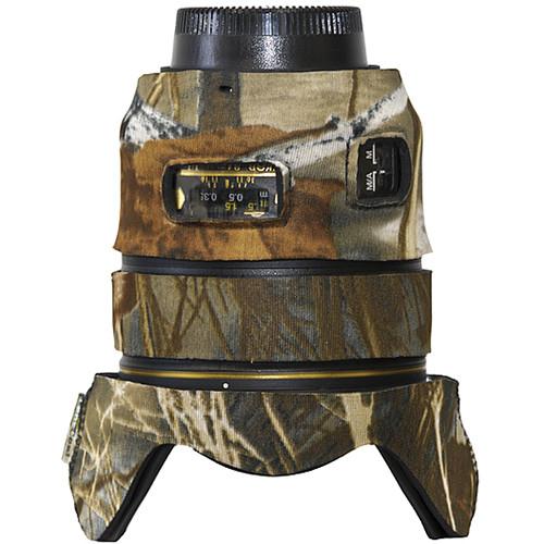 LensCoat Lens Cover for Nikon 24mm f/1.4G ED AF-S Lens (Realtree Max 4)