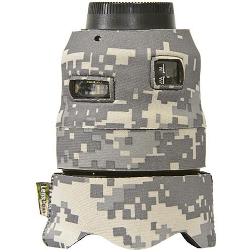 LensCoat Lens Cover for the Nikon 35mm f/1.4G ED AF-S Lens (Digital Camo)