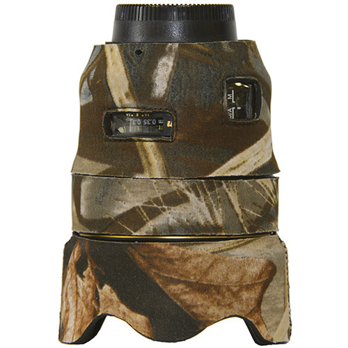 LensCoat Lens Cover for Nikon 35mm f/1.4G ED AF-S Lens (Realtree Max 4)
