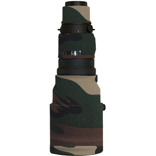 LensCoat Lens Cover for Olympus Zuiko 300mm f/2.8 ED Lens (Forest Green Camo)