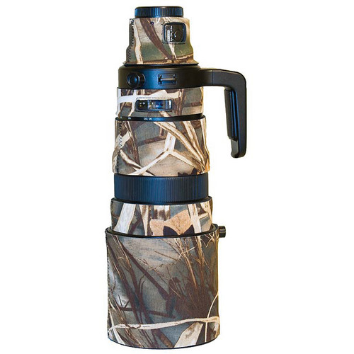LensCoat Telephoto Lens Cover for the Olympus 90-250mm f/2.8 Lens (Realtree Max 4)