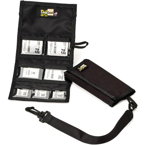 LensCoat Memory Card Wallet Combo 43 (Black)