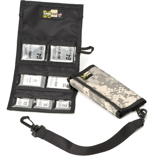 LensCoat Memory Card Wallet Combo 43 (Digital Camo)