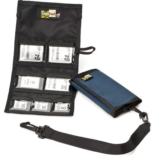 LensCoat Memory Card Wallet Combo 43 (Navy)