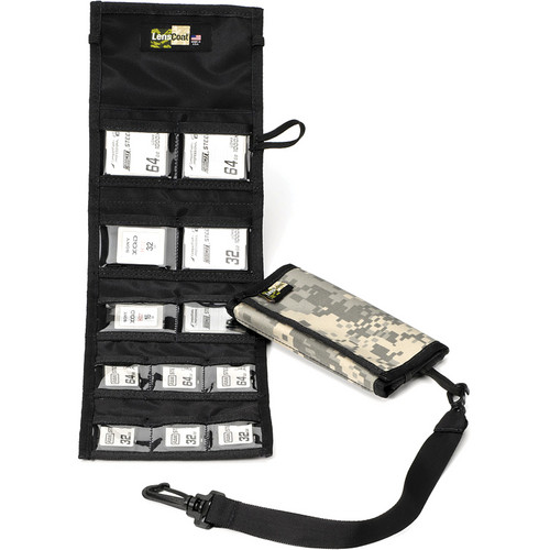 LensCoat Memory Card Wallet Combo 66 (Digital Camo)