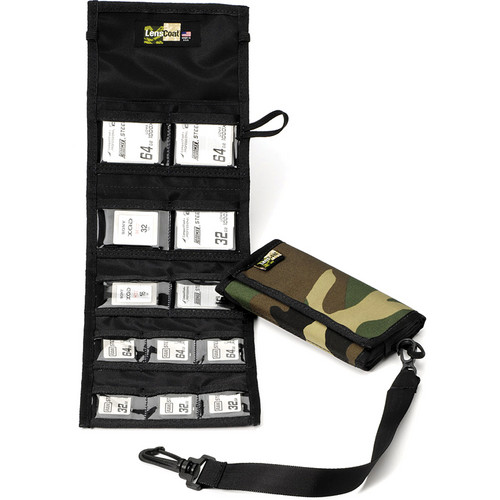 LensCoat Memory Card Wallet Combo 66 (Forest Green)