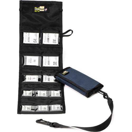 LensCoat Memory Card Wallet Combo 66 (Navy)