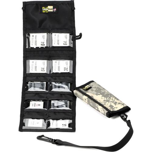 LensCoat Memory Card Wallet CF10 (Digital Camo)