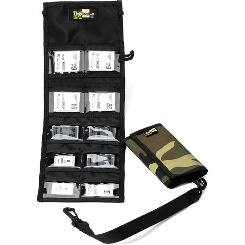 LensCoat Memory Card Wallet CF10 (Forest Green Camo)
